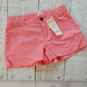 💟3/$24💟NWT GYMBOREE CORAL TWILL SHORTS